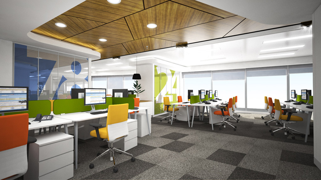 Ofis İç Mimari Projesi