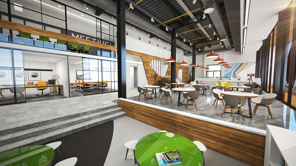Satış Ofisi İç Mimari Proje