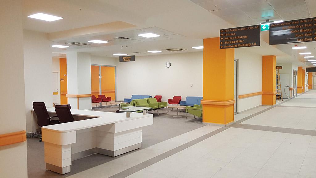 Şehir Hastanesi Dekorasyon