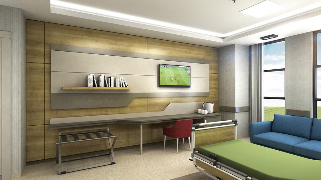 Şehir Hastanesi Hasta Odası