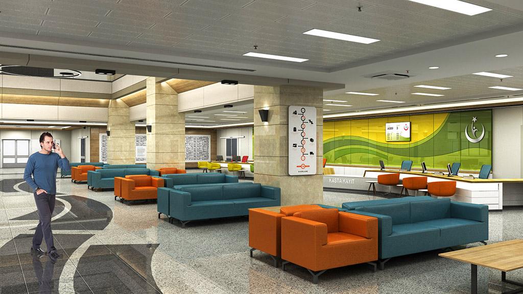 Hastane Giriş Tasarımı