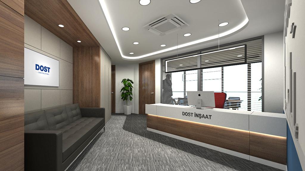 Ofis Girişi Tasarımı